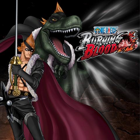 File:One Piece Burning Blood X Drake (Artwork).png