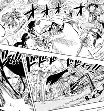 Raki and Shandia Fight Holy