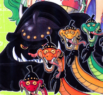 Bacura Manga Color Scheme