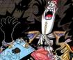 Gecko Moria's Summit War Manga Color Scheme