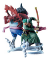 Gyojin Island Log Box set - Zoro & Hody Jones