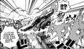 Luffy utilisant geppou
