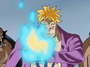 Marco controlando sus llamas