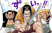 Tightrope Walking Funan Bros Digitally Colored Manga