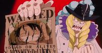 Avis de Recherche de Luffy poignardé par Cavendish