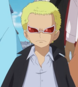 Doflamingo as a Mobster