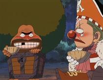 Buggy befriends Gaimon