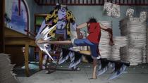 Luffy Menghancurkan Ruang Kartografi Nami