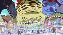 Shirahoshi Summons Sea Kings as a Child