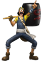Usopp Pre Pirate Warriors 3