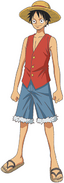 Luffy (Romance Dawn) Anime Concept Art