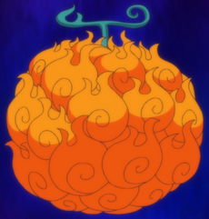 Mera Mera no Mi Fruit Anime