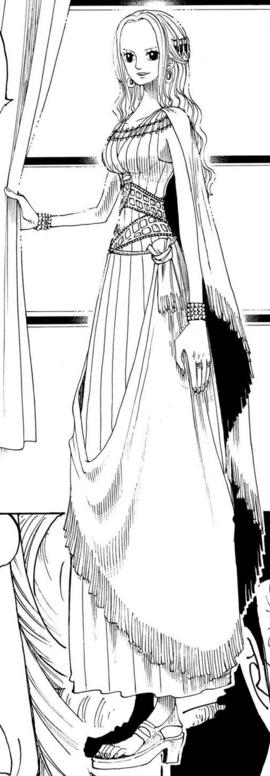 Nefertari Vivi Manga Pre Timeskip Infobox