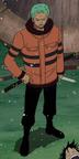 Penampilan Zoro Arc Ice Hunter