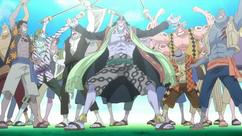 Piratas de Arlong en el Pasado