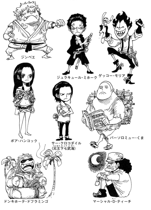 Shichibukai as Children