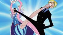 Bon Clay vs Sanji Anime