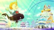 Luffy und seine Freunde lernen König Neptune kennen