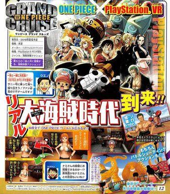 One Piece Grand Cruise anuncio