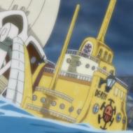 Bagian Belakang Kapal Selam Bajak Laut Hati