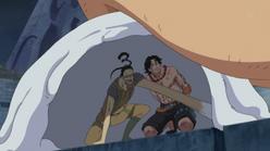 Galdino salva a Ace
