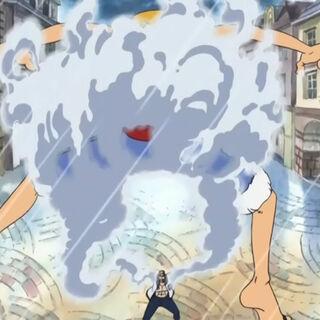 … und fängt auch Luffy mit ihnen.