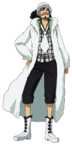 Usopp Film Gold White Casino Outfit
