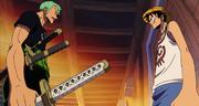 Zoro Membahas Keanggotaan Usopp dengan Luffy