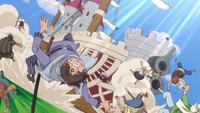Nostra Castello travolge pirati