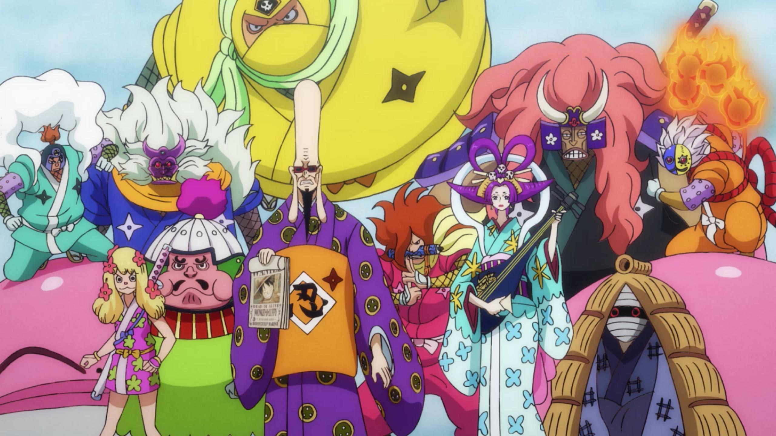 Orochi Oniwabanshu One Piece Wiki Fandom
