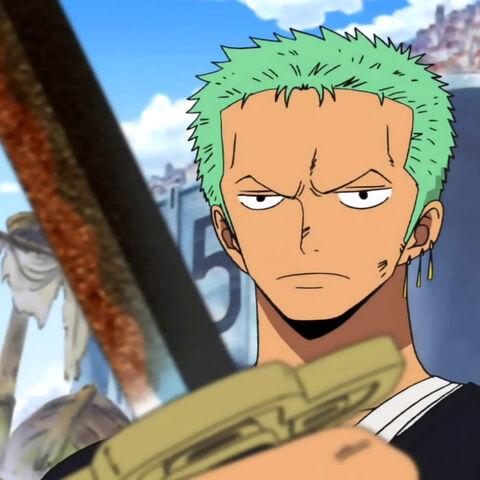 Zoro und sein verrostetes Yubashiri.