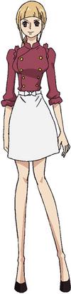 Cosette Anime Concept Art