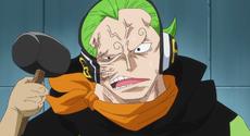 El rostro de Yonji siendo reestructurado