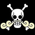 Piratas de Roger bandera