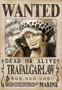 Trafalgar Law Avis de Recherche Après Ellipse