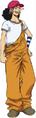 Vestimenta de Usopp en el arco del rey del ácido carbónico