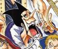 Foxy Manga colorié