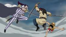 Momonga Clashes with Doma