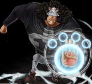 One Piece Burning Blood Bartholomew Kuma (Artwork)