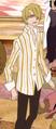 Primera vestimenta de Sanji en la película 6