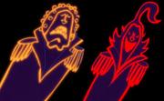 Sengoku et Tsuru imaginés par Bartolomeo