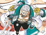 Smoker Post Timeskip Manga Color Scheme