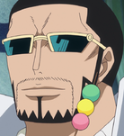 Vergo With Dango on Face