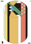 Brook Cylindrical Candy