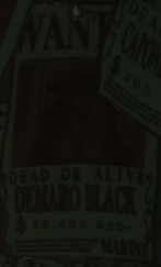 Demalo Black Avis de Recherche