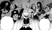 Luffy denkt an seine Mannschaft