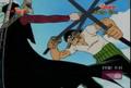 One Piece Corée épées censurées