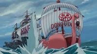 Piratas Donquixote vs. Tsuru