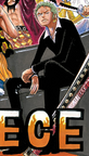 Zoro's Outfit Without a Disguise in the Dressrosa Arc