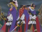 Les Trois Mousquetaires d'Inuarashi